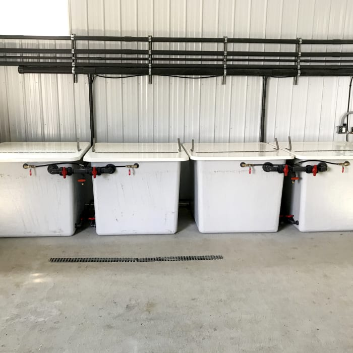 Stock Tanks & Agitators Nutrient Management at Zwart Systems | Greenhouse Irrigation & Automation Specialists, Beamsville, Ontario